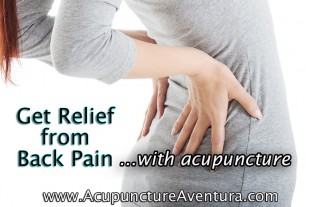 Relieve Back Pain with Acupuncture
