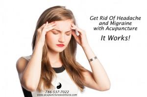 Acupuncture for Headache and Migraine in Aventura and North Miami Beach Florida
