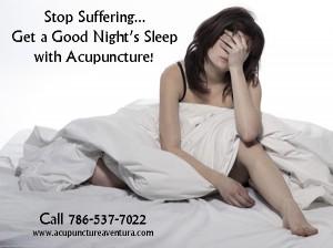 Acupuncture for Insomnia in Aventura Florida