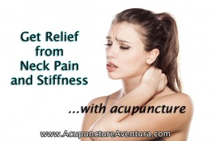 Relieve Neck Pain with Acupuncture
