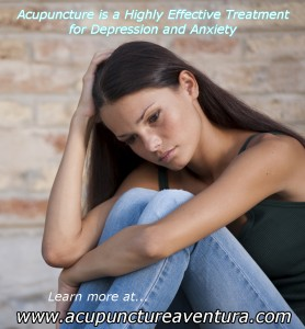 Acupuncture for depression and anxiety in Aventura Florida 33160