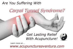 Acupuncture for Carpal Tunnel Syndrome in Aventura Florida