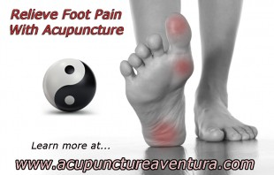 Treat Your Foot Pain with Acupuncture