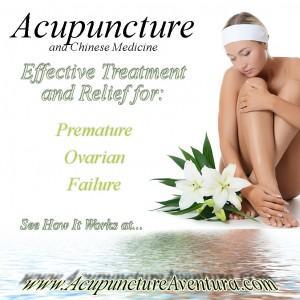 Acupuncture treats POF, Premature Ovarian Failure in Aventura Florida