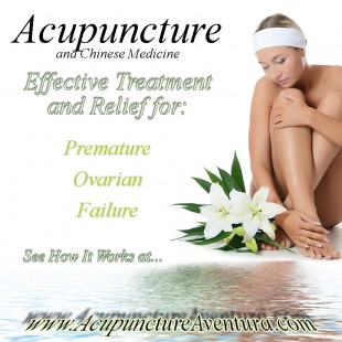 Treat Premature Ovarian Failure with Acupuncture and Holistice Medicine